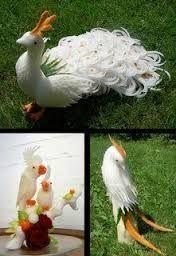 Resultado de imagem para esculturas frutas e legumes takashi itoh