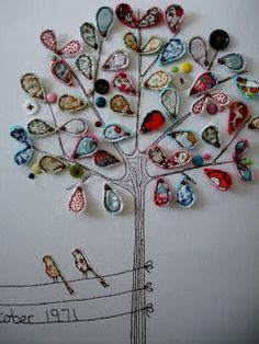 Embroidery/Applique tree by supercutetilly.blogspot.co.uk
