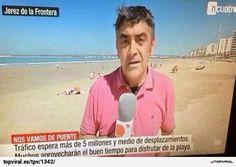 ¿Encuentras el gazapo? (Solución: Jerez de la Frontera no tiene playa, esa es la de El Puerto de Santa María)