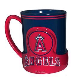 Los Angeles Angels Coffee Mug - 18oz Game Time (New Handle)