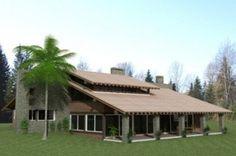 modelo de casas de campo grande