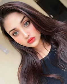 Image may contain: 1 person, selfie and closeup Cute Girl Poses, Girl Photo Poses, Girl Photos, Beautiful Girl Photo, Beautiful Eyes, Beautiful Dresses, Girls Dp, Cute Girls, Girls Eyes