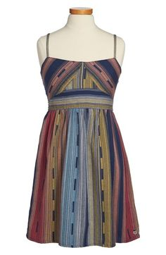 Roxy 'Tail Feathers' Sleeveless Dress (Big Girls) available at #Nordstrom
