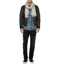 PRODUCT - Dolce & Gabbana - Modal And Wool-Blend Scarf - 362021|MR PORTER