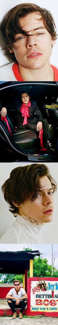Harry Styles | for Rolling Stone | emrosefeld |