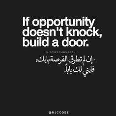 #اصنع_فرصتك #via @mjcodez