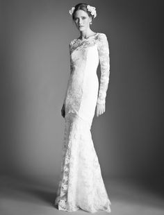 Temperley London | #Bridal | Fall 2013  Via: http://fashioncherry.co/temperley-london-bridal-fall-2013/#