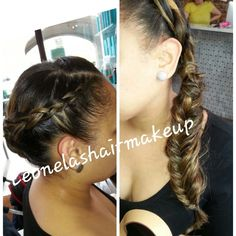 Gala braid...fishtail braid/frenchbraid