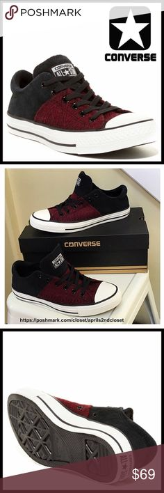 ❗️1-HOUR SALE❗️CONVERSE SNEAKERS Low Tops Oxfords CONVERSE SNEAKERS Low Tops Oxfords  *NEW IN BOX* AUTHENTIC *  SIZING- women's sizes are shown  COLOR- Black, Deep Bordeaux, white   * Lightly cushioned footbed  * Round cap toe & logo tongue  * Lace-up closure  * Contrast construction  * Grip textured sole  MATERIAL- Suede & textile upper & lining & rubber sole   ❌NO TRADES❌ ✅BUNDLE DISCOUNTS✅ OFFERS CONSIDERED (Via the offer button only)  ITEM#C94500  SEARCH # chuck taylor all star II…