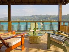 This view from the balcony of a house in Jamaica is amazing. My husband is killing me to go here.