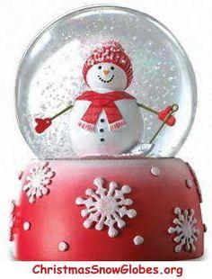 Christmas ☃ Winter Snow Globe
