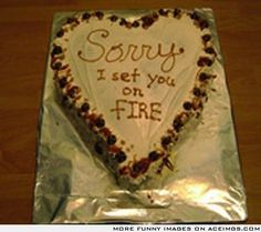 Apology cake....NAILED IT
