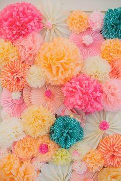 Ideas de fondos para el photocall de la Boda | El Blog de una Novia | #boda #fiesta #invitados #fotosboda