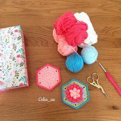celia_az The front and back of my #Madeleine #pincushion is done. How beautiful is this pattern from @crochetobjet !!? 30/05/2016 #crochet #crochethook #crochetaddict #crochetart #crochetlove #crochetersofinstagram #instacrochet #craftastherapy #handmade #flower #hexagon #yarnlove #yarnaddict #yarnaholic #cloveramour #haak #haken #häkeln #hekle #hekling #whatisonmyhook #uncinetto #örgü #virka #virkning #wip #
