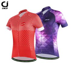 Cheji 2017 Pro Cycling Jersey Womens' Breathable Quick Dry Short Sleeve Bike Sport Shirts Outdoor SportsWear Camisa de ciclismo