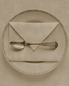 Napkin Folding - Martha Stewart Entertaining; this link shows several different folds