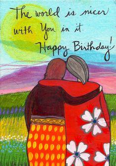 Friend Birthday, Birthday Quotes, Birthday Cards, Birthday Stuff, Birthday Ideas, Birthday Greetings For Women, Album Vintage, Happy Birthday Vintage, Amor