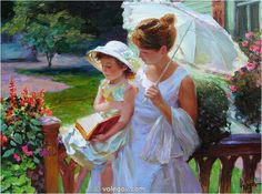 FAIRY TALE, painting,