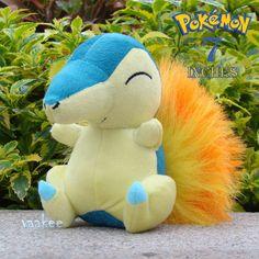 "Pokemon Plush Toy Cyndaquil 7"" Nintendo Game Collectible Stuffed Animal Doll"