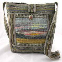 Size: w x h x d, strap, lined, inside pocket Description… Inkle Weaving, Inkle Loom, Tablet Weaving, Hand Weaving, Tapestry Loom, Small Tapestry, Woven Bags, Weaving Projects, Handmade Bags
