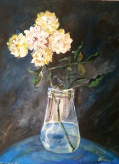 Flowers. Artist: Simona Zalinca Contact: www.belladonart.wordpress.com