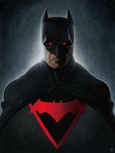 Thomas Wayne - Earth 2 Batman by Marcos Lopez Nightwing, Batgirl, Catwoman, I Am Batman, Batman Vs Superman, Batman Arkham, Batman Universe, Marvel Cinematic Universe, Dc Universe