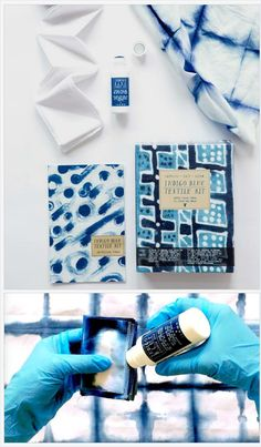 Indigo Blue Textile Kit DIY dye starter by Yellow Owl Workshop https://www.at-lotus.com/products/indigo-blue-textile-kit-diy-dye-starter-by-yellow-owl-workshop?utm_campaign=Pinterest%20Buy%20Button&utm_medium=Social&utm_source=Pinterest&utm_content=pinterest-buy-button-0ebc61ade-a5bf-4da0-befa-dbed5c3de182