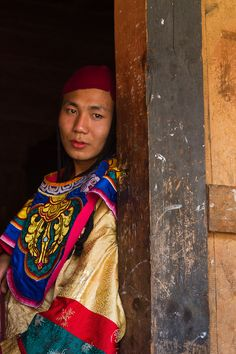 Man from Bhutan