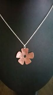So far this week I have made two pieces in the workshop. The first piece is a cross pendant made using Aluminium and Copper. Flower Pendant, Cross Pendant, Workshop, Copper, Necklaces, Jewellery, Flowers, Silver, Blog