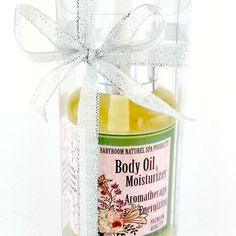 Body Oil / Moisturizer · CandleBakeryCandles · Online Store Powered by Storenvy