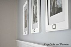 Updating Dollar Store Picture Frames