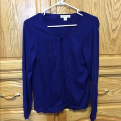 Sweater A cute stylish sweater. Very good condition Coldwater Creek Sweaters Cardigans