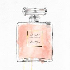 Perfume Bottle Blush Pink ($160) ❤ liked on Polyvore featuring home, home decor, wall art, art, art by type, canvas home decor, giclee wall art, blush pink home decor, canvas wall art and pale pink home decor