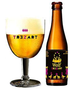 WOLF TREZART, Brouwerij Wolf Belgian Beer, Craft Beer, White Wine, Alcoholic Drinks, Wolf, Glass, Beer, Drinkware, Corning Glass