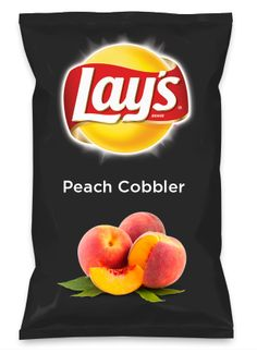Wouldn't Peach Cobbler be yummy as a chip? Lay's Do Us A Flavor is back, and the search is on for the yummiest flavor idea. Create a flavor, choose a chip and you could win $1 million! https://www.dousaflavor.com See Rules.