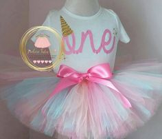 Check out this item in my Etsy shop https://www.etsy.com/ca/listing/266567338/unicorn-birthday-outfit-1st-birthday