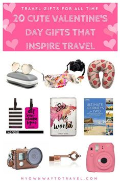 20 cute to inspire lovers family and friends, wanderers, and of course your wanderlust valentine. The listed gifts are also completely alright to buy and present any of your suitable or special day. Yes, for all time for any budget. Travel Items, Travel Gadgets, Ways To Travel, Travel Advice, Time Travel, Travel Products, Travel Hacks, Travel Articles, Travel Guides