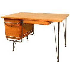 Heywood Wakefield Trimline Desk ~ Kem Weber Design