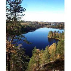 Lisää tämän ihanan syksyn fiilistelyä #haukkavuori #eteläkarjala Kiitos tägäyksestä @mirahatakka #mondolöytö  #luontopolku #syksy #nature #finland #autumn #mondolehti