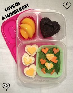 Lunch Made Easy: Lunchbox Love!  Cute for School on Valentine's Day #EasyLunchboxes