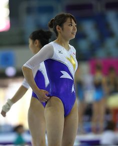 no title Gymnastics Pictures, Sport Gymnastics, Artistic Gymnastics, Rhythmic Gymnastics Leotards, Sports Pictures, Beautiful Asian Women, Amazing Women, Sports Uniforms, Female Gymnast