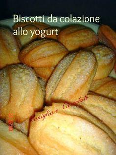 vaniglia e cioccolato: biscotti da colazione