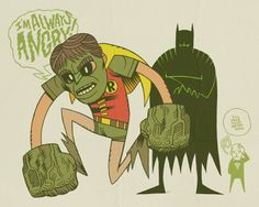 TIME TO GET A NEW ROBIN…by Dan Hipp