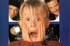 Home Alone-never gonna tire of watching what poor little Kevin gets upto!