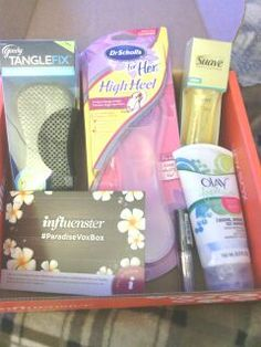 #paradisevoxbox Got it from @Influenster #influenster