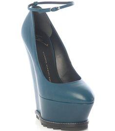High Wedge Heel Shoes by Giuseppe Zanotti #Matchesfashion