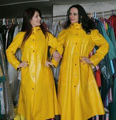 """yellow couple, """"But won't he gain pleasure from this picture?"""" """"Normally yes. He will have discovered that even pictures of rainwear easily suffice! The only thing is we have made his sex organs malfunction. He sure gets worked up, but without any release!"""" """"That's a relief!"""" """"Hahahahehehaha!"""""""