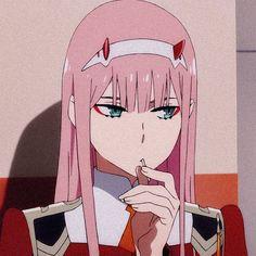 Zero two art Anime Angel, Ange Anime, Cool Anime Pictures, Cute Anime Pics, Anime Girl Cute, Anime Girls, Anime Wolf, Otaku Anime, Kawaii Anime
