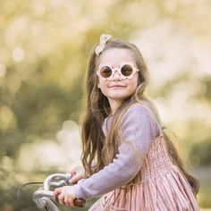 Cream Toddler Sunglasses | Kids sunglasses | Sadie Baby Flower Sunglasses, Girl With Sunglasses, Kids Sunglasses, Sensitive Eyes, Dark Shades, Flower Shape, Baby Accessories, Shoe Collection, Kids Fashion