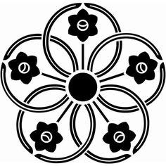 五つ水仙車(いつつすいせんぐるま)